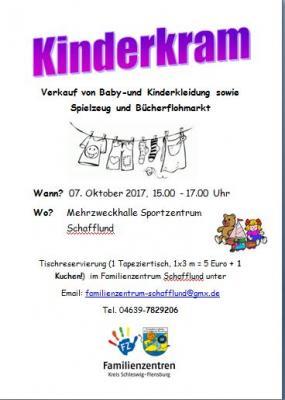 Foto zur Meldung: Second- Hand Wochenende in Schafflund