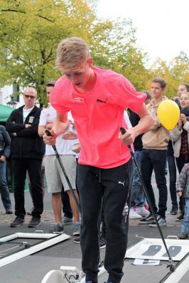 Foto zur Meldung: LAZ-Athleten nehmen an der Biathlon-Tour teil