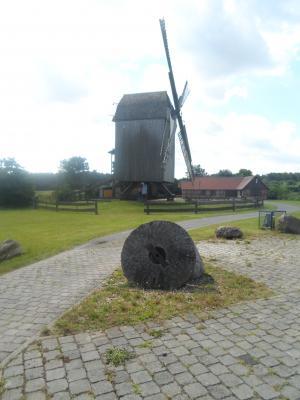 Die Bockwindmühle von Lindhorst/Colbitz