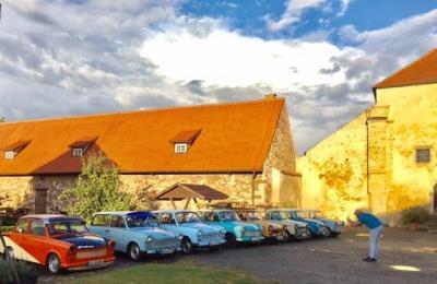 Vorschaubild zur Meldung: Überraschender Besuch auf der Konradsburg