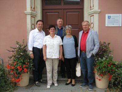 Vorschaubild zur Meldung: Gäste aus Gutach besuchten die Stadt Mühlberg/Elbe