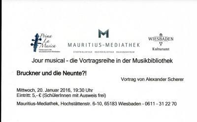 Vorschaubild zur Meldung: Alexander Scherer: Bruckner und die Neunte?!