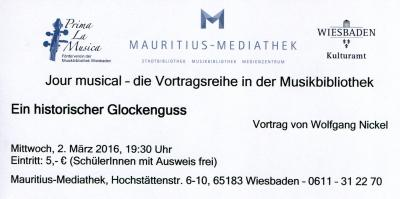 Vorschaubild zur Meldung: Wolfgang Nickel: Ein historischer Glockenguss