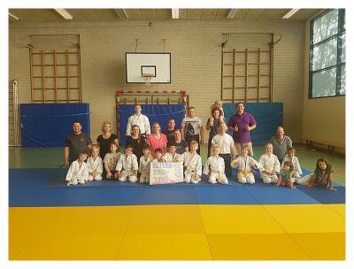 Foto zur Meldung: Eltern-Kind-Judo beim SC Hemmingen-Westerfeld