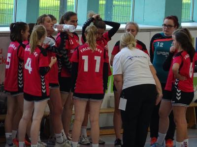 Foto zur Meldung: B-Jugend des HSV verliert denkbar knapp in Wildau
