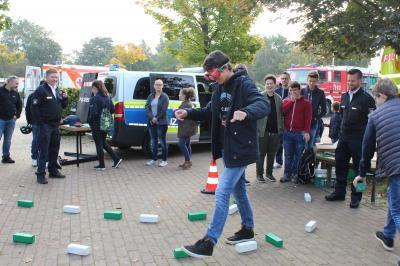 Foto zur Meldung: Verkehrserziehung mit Spiel und Spaß