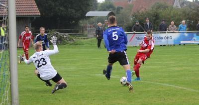 Foto zur Meldung: I.Herren - Unentschieden im Südkreis-Derby