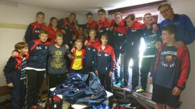 Foto zur Meldung: Derbysieg C-Jugend