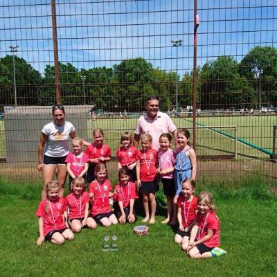 Foto zur Meldung: Mädchen D beim Wilhelm-Hirte-Cup in Hannover