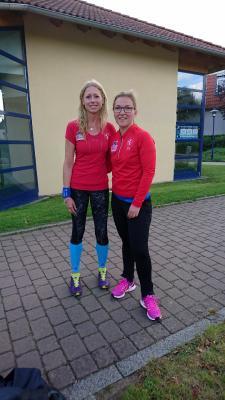 Foto zur Meldung: Laager Läuferinnen mal anders unterwegs – Bericht vom Ostseeweg 2017