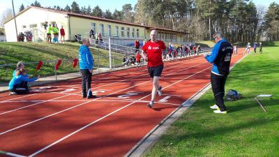 Foto zur Meldung: Wieder ein Sportabzeichen-Tag in Laage