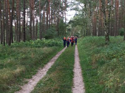 Foto zur Meldung: O-marsch der Jugendwehren in Leussow