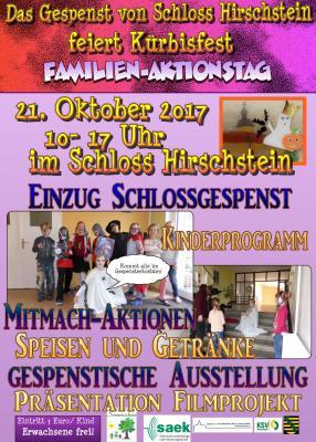 Vorschaubild zur Meldung: Kürbisfest auf Schloss Hirschstein