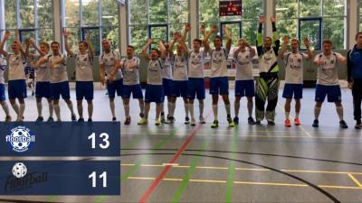 Foto zu Meldung: Fulminanter Heimspielauftakt für Blau-Weiß - Erstes Heimspiel, erster Sieg!