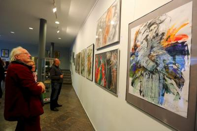 Bild der Meldung: Mensch, Luther - Austellung in der Rathaus Galerie eröffnet