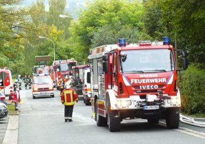 """Vorschaubild zur Meldung: Brandschutzübung  im Alten- und Pflegeheim """"Walter Hümmer Haus"""" am Wildenberg"""