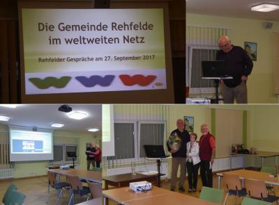 """Foto zur Meldung: Vortrag """"Die Gemeinde Rehfelde im weltweiten Netz"""""""
