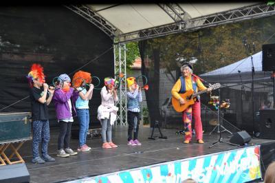 """Foto zur Meldung: Auf dem 23. Kinder- und Jugendfest Nauheim  """"zählte das Wort"""" der Kinder und Jugendlichen"""