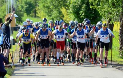 Foto zur Meldung: 15.Ruhlaer-Skiroller-Berglauf