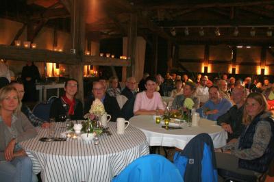 Foto zur Meldung: Toller Abend vertieft die Sportfreundschaft zu agilem Partner