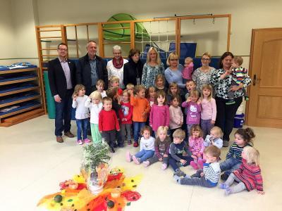 """Feierliche Verabschiedung von Helga Schilling in der Kindertagesstätte """"Bunte Welt"""""""