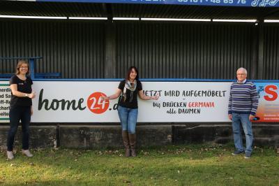 """Foto zur Meldung: Germania - Neuer Sponsor """"home 24"""""""
