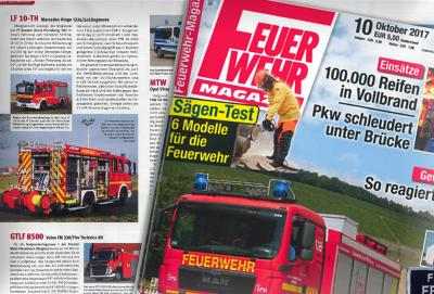 """Im """"Feuerwehr-Magazin"""" #10/2017 wird das LF 10-TH der FF Seester vorgestellt"""