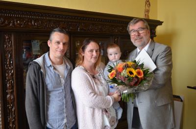 Foto zu Meldung: Bundespräsident ist Pate von Oranienburger Baby
