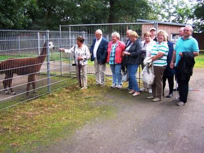 Foto zur Meldung: Tierparkbesuch und Kaffeenachmittag