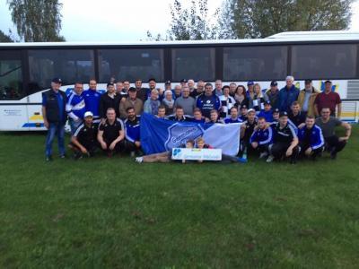 Foto zur Meldung: I.Herren - #Danke #begeistert #stolz #blauweiß #SGW #Spitzenreiter #zusammen