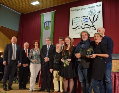 """Vorschaubild zur Meldung: Verleihung des Nordhessischen Literaturpreises für """"Komische Vögel"""""""