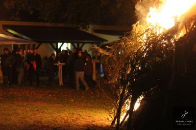 Foto zur Meldung: Herbstfeuer in Sülstorf