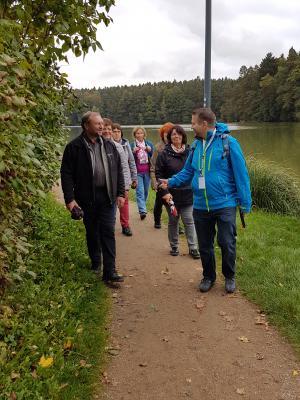 Literarische Wanderung um den Hammersee