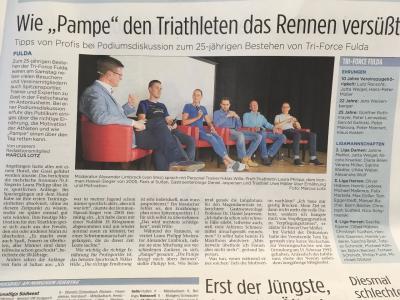 Bericht der Fuldaer Zeitung