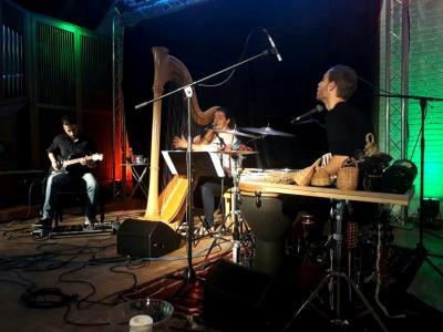 Das Ethnic Jazztrio 'Bentō' aus Lübeck