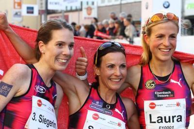 Foto zur Meldung: Dreimal LAZ-Bronze und Kreisrekorde beim Köln-Marathon