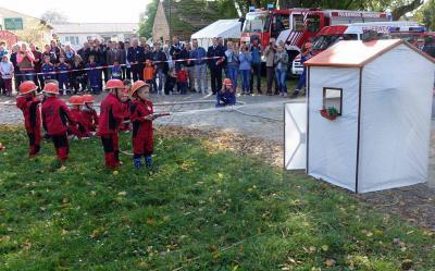 Foto zu Meldung: Feuerwehrnachwuchs zeigte sein Können