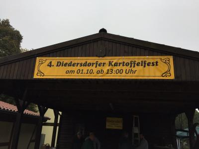 Vorschaubild zur Meldung: Mitteilung des Fördervereins Gemeinschaftsleben Diedersdorf e.V. - 4. Kartoffelfest in Diedersdorf
