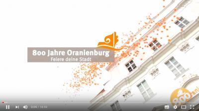 Vorschaubild zur Meldung: 800 Jahre Oranienburg: Film zum Festjahr 2016