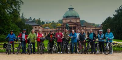 Vorschaubild zur Meldung: Seniorenradler radeln nach Bad Homburg