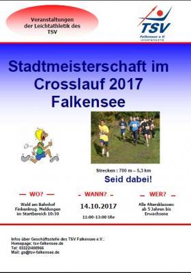 Falkenseer Stadtmeisterschaft im Crosslauf