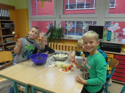 Foto zur Meldung: Herbstprojekt der Schuleingangsphase