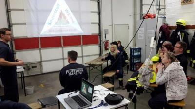 Vorschaubild zur Meldung: Ausbildungstag der Feuerwehren des Amtes Nennhausen
