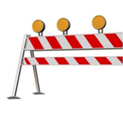 Vorschaubild zur Meldung: Von der Thälmannstraße für einen Monat keine Einfahrt in den Heinrich-Heine-Platz