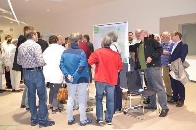 Die Bürgerwerkstatt zum integrierten Stadtentwicklungskonzept (INSEK) fand im Foyer der Stadthalle statt.