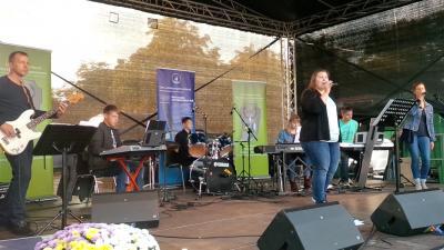 Foto zur Meldung: Musikalische Umrahmung der 17. Landeswild- und Fischtage in Ludwigslust