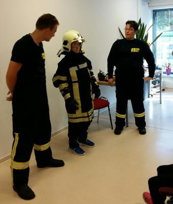 Foto zur Meldung: Die freiwillige Feuerwehr Rückersdorf als Retter in der Not