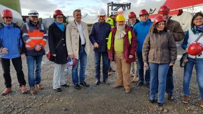 Foto zur Meldung: Besuch Umweltminister Stefan Wenzel