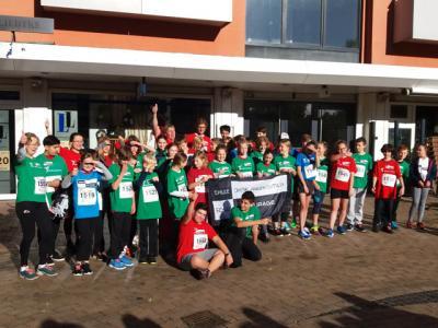 Foto zur Meldung: Mit fast 50 AFG-Schülern, Eltern und Lehrkräften beim Elmshorner Stadtlauf!