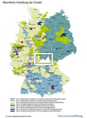 """Foto zur Meldung: Von """"schwächelnd"""" bis """"gut aufgestellt"""": So digital sind Deutschlands Regionen"""
